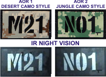 Custom Call Sign Patches